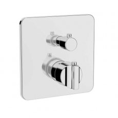 Vitra Suit Built-In Thermostatic Shower Mixer Concealed Valve - V-Box Exposed Part