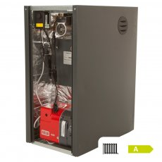Warmflow Agentis K-Series Kabin Pak External Condensing Conventional Oil Boiler 33-44kW With Pump