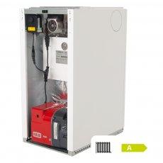 Warmflow Agentis U-SERIES Utility Condensing Conventional Oil Boiler 15-21kW (Inc. pump)