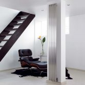 Aeon Lunar Designer Vertical Radiator 1500mm H x 240mm W - Brushed Matt