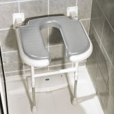 AKW 4000 Series Standard Horseshoe Seat Grey