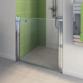 AKW Larenco Duo Care Alcove Shower Door, 900mm Wide, Non-Handed