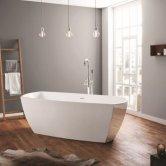 April Anston Contemporary Freestanding Bath 1750mm X 750mm - Acrylic