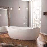 April Horbury Contemporary Freestanding Bath 1750mm x 830mm - Acrylic