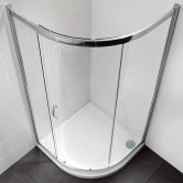 April Identiti2 Single Quadrant Shower Enclosure 800mm x 800mm - 8mm Glass