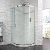 Aquadart Venturi 6 Single Quadrant Shower Enclosure 900mm x 900mm - 6mm Glass