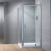 Aquadart Venturi 8 Pivot Shower Door 700mm Wide - 8mm Glass