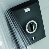 Aqualisa Quartz 8.5kW Electric Shower with Adjustable Height Head Chrome / Graphite
