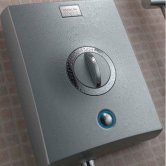 Aqualisa Quartz 9.5kW Electric Shower with Adjustable Height Head Chrome