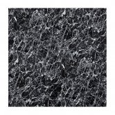 Aquashine M1 Series PVC Single Shower Wall Panel 1200mm Wide - Black Marble
