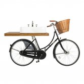 Arcade Pashley Bicycle with Basin 600mm Wide and Basin Mixer Tap - 3 Tap Hole