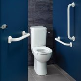 Armitage Shanks Contour 21 Ambulant Doc M Pack with Close Coupled Toilet - White