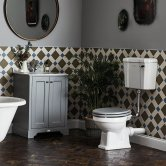Bayswater Fitzroy Bathroom Suite with Floor Standing Vanity Unit 600mm - 1TH