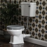 Bayswater Fitzroy Low Level Toilet with Lever Cistern (excluding Seat)