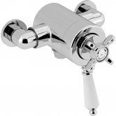 Bristan 1901 Exposed Concentric Shower Valve Only - Chrome