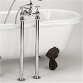 Bristan Freestanding Bath Shroud Covers - Chrome