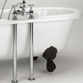 Bristan Traditional Bath Shroud Covers - Chrome