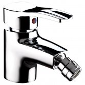 Bristan Capri Bidet Mixer Tap with Pop Up Waste - Chrome Plated