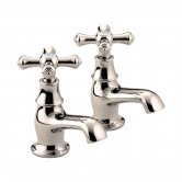 Bristan Colonial Basin Taps - Gold Plated