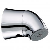 Bristan Commercial Vandal Resistant Exposed Fixed Shower Head, Chrome