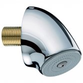 Bristan Commercial Vandal Resistant Fast Fit Duct Shower Head, Chrome