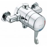 Bristan Commercial TS1503 Opac Exposed Shower Valve, Lever Handle, Chrome