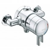 Bristan Commercial TS1875 Stratus Exposed Shower Valve Dual Concentric Controls - Chrome