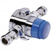Bristan Commercial TS4753ECP Thermostatic Mixing Valve, 22mm, Chrome