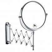 Bristan Extending Shaving Mirror, Chrome