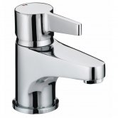 Bristan Design Utility Lever Basin Mixer Tap with Clicker Waste - Chrome