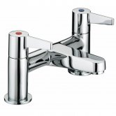 Bristan Design Utility Lever Bath Filler Tap - Chrome Plated