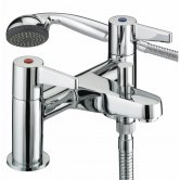 Bristan Design Utility Lever Bath Shower Mixer Tap - Chrome Plated