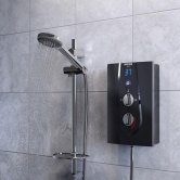 Bristan Glee Electric Shower, Black, 10.5kW