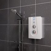 Bristan Glee Electric Shower, White, 8.5kW