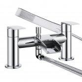 Bristan Glide Waterfall Bath Shower Mixer Tap - Chrome