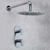 Bristan Hourglass Dual Concealed Mixer Shower with Fixed Head