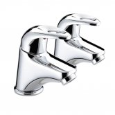 Bristan Java Basin Taps - Chrome Plated