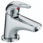 Bristan Java Mini Basin Mixer Tap with Clicker Waste - Chrome Plated