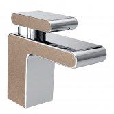Bristan Metallix Pivot 1 Hole Bath Filler Tap - Copper Radiance