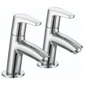 Bristan Orta Modern Basin Taps - Chrome