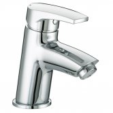 Bristan Orta Basin Mixer Tap With Clicker Waste - Chrome