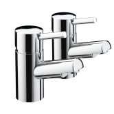Bristan Prism Basin Taps - Chrome Plated