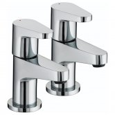 Bristan Quest Basin Taps - Chrome Plated