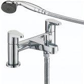 Bristan Quest Bath Shower Mixer Tap - Chrome Plated