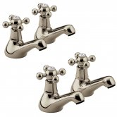 Bristan Regency Basin Taps and Bath Taps, Gold