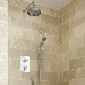 Bristan Renaissance Concealed Mixer Shower with Shower Kit + Fixed Head