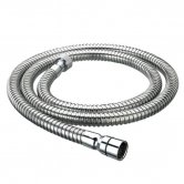 Bristan Cone-to-Nut PVC Shower Hose, 1500mm Length, Chrome