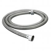 Bristan Nut to Nut Stainless Steel Shower Hose, 1.75m, 8mm Bore, Chrome