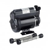 Bristan Single Impeller Shower Booster Pump, 2.0 Bar, Black