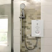 Bristan Smile Electric Shower, White, 8.5kW